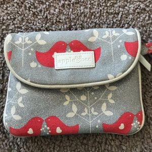 Apple&Bee coin pouch